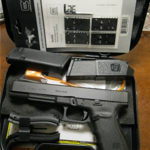 Glock 40 gen4 MOS black, 10mm